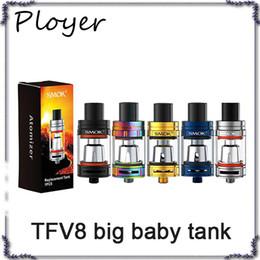 Wholesale Wholesale Stick Pack - SMOK TFV8 Big Baby Tank Single Pack 5ML Big TFV8 Baby Cloud Beast Atomizer for Stick V8 Kits 0266143-1