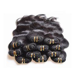 Wholesale Product Body - cheapest hair products supplier brazilian human hair extensions body wave 10 bundles 500g lot 5a grade natural black color 50gbundle