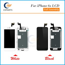 Wholesale 3d Wholesale Frames - LCD Display For Apple iPhone 6S Touch Screen Digitizer Frame Full Set Assembly Replacement+Home Button+Front Camera Top Quality+3D Function