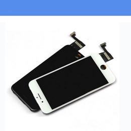 super schirm freies verschiffen Rabatt 2017 Schwarz Grad A + + + LCD Display Touch Digitizer Komplette Bildschirm mit Rahmen Vollversammlung Ersatz Für iPhone 6/6 s iPhone 6/6 s Plus