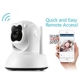 Wholesale Cut Monitor - IP Camera Wi-Fi HD 720P P2P Baby Monitor Network IR-Cut Infrared Camera Support APP PTZ Control CCTV Surveillance Camera