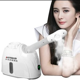 Wholesale Best Steamers - Kingdom Best Face Steamers Antibacterial Ozone Professional Facial Steamer for Salon SPA Home Beauty Warm Steamers LLFA