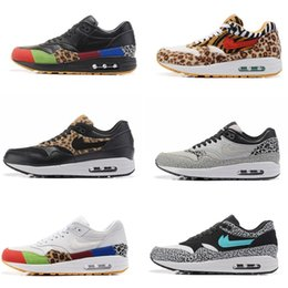Wholesale Max 87 Shoes - Max 87 MASTER Black Multicolor Essential Mens Running Shoes PREMIUM QS Retro atmos Sneakers Elephant Trainers Pick 1 size 36-46