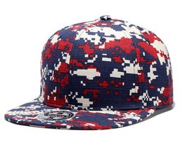 Wholesale Ball Hats - New Arrival Fashion Baseball Caps Adjustable Camouflage Snapback Hats Sports for Men Women Mixed Order High Quality