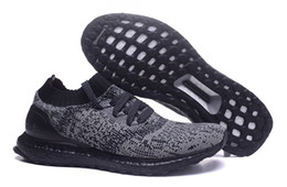 Wholesale Cool Shoes Women - Ultra Boost Uncaged Black Running Shoes Runners Shoes Low Tops Men Ultra Boost Cool Running Sport Shoes 14 Styles Athletic Sneakers