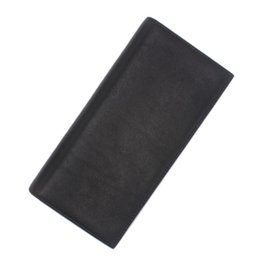 Wholesale Soft Leather Wallets Mens - Wholesale- Luxury Brand Mon Men MB Wallet Genuine Leather Mens Wallet blanc soft natural leather long wallets purse ship with box MO-902