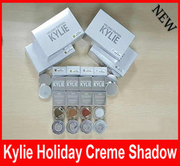 Wholesale Limited Camo - New Kylie Holiday Edition CAMO GOLDEN PLUM YELLOW GOLD SNOW Eyebrow cream Eyeshadow Kylie Jenner Eye Shadow Limited Edition