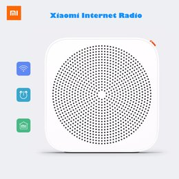 Wholesale Portable Player Wifi - Wholesale-2016 New Original Xiaomi Internet Radio Wifi Network Radio Bluetooth Internet Radio Wireless FM Speaker Portable Player