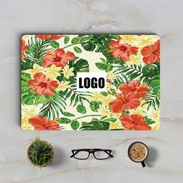 Wholesale Notebook Pvc Skin - Classical Flower Macbook Skin Laptop Decal Air Retina Pro 11 12 13 15 inch Mac HP Dell Notebook Protective Full Cover Skin