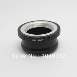Wholesale Tripod Price Wholesales - Wholesale- lower price Lens Adapter Ring M42-M4 3 For Takumar M42 Lens and Micro 4 3 M4 3 Mount Adapter with Tripod Mount GF3 G3 E-P3