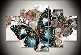 Wholesale Square Drill - 5pcs set full 5d diamond embroidery beautiful butterfly 3d diamond painting cross stitch square drill multi-pictures