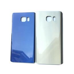 taccuino blu Sconti Nuovo alloggiamento medio chassis coperchio del vano batteria posteriore per Samsung Galaxy Note 5 oro / blu scuro