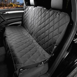 Wholesale Seat Cover For Pets Wholesale - Car Pet Seat Covers Waterproof Back Bench Seat 600D Oxford Car Interior Travel Accessories Car Seat Covers Mat for Pets Dogs