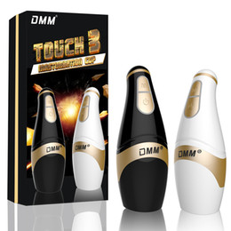 Wholesale Male Masturbation Vibrators Electric - Japan DMM TOUCH 3rd Generation Intelligent Vibrator With Real Voice Moan Electric Male Masturbation Aircraft Cup Pocket Pussy