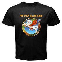 Wholesale Dreams Book - The Steve Miller Band *Book of Dream *Abracadabra Men's Black T-Shirt Size S-3XL
