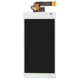 Wholesale Xperia Screen Replacement - Grade A +++ LCD Display &Touch Screen Digitizer Replacements Digitizer Parts For For Sony Xperia Z5 5.2inch E6603