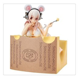Wholesale Mouse Scales - Anime Super Sonico Mouse Version 1 7 PVC Scale Figure New