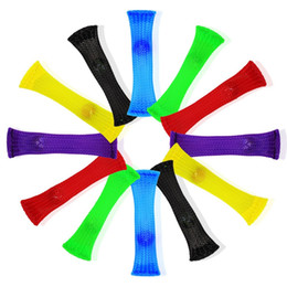 Wholesale Kids Belts Wholesale - Novelty Fidget Decompression Toys Mesh Grid Belt Marble Fidgets Toy Squeeze Immediatly Relieves Stress For Sensory Kids And Adults 1 95jx