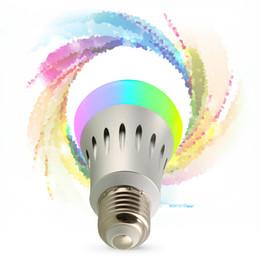 Wholesale E22 Led - WIFI LED BULB7W RGBW B27 E22 Easy connecct to Amazon ECHO FTC certificaiton Free of shipment