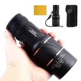 Wholesale Monocular 16x52 - Day Night Vision 16x52 HD Optical Monocular Zoom Adjustable Binoculars For Camping Hiking Birding Binoculars Telescope