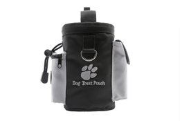 Wholesale Dogs Treat Bag Reward Training Dog Pets Treat Pouch For Agility Professional Dogs Nylon Bag With Belt Outdoor For Dogs DHL