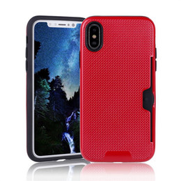 Wholesale China Apple Mobile - Hot Sale China Manufacturer New Anti-Scratch Mobile Phone Case Design for iPhone 8 Card Slot Cover