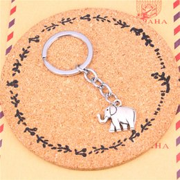 Wholesale Vintage Stereos - New Fashion Car Keychain Silver Color Metal Key Chains Accessory, Vintage stereo elephant Key Rings