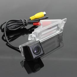 Wholesale Back Light For Car - For Dodge Caliber 2007~2012 Car Reverse Back Up Camera   Parking Camera   HD CCD RCA NTST PAL   License Plate Light OEM