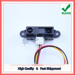Wholesale Infrared Distance Sensors - Free Shipping 2pcs GP2Y0A21YK0F new imported S.harp infrared distance sensor 10-80cm (D5B5)