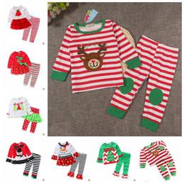 f297d3d3c99c 2019 baby santa claus pyjamas 7 Entwürfe Weihnachtsausstattungen Baby  Mädchen Weihnachten Pyjamas Kinder Nachtwäsche Mädchen Nachtwäsche