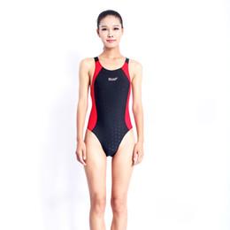 Wholesale Xxl Monokini - Sport Monokini Swimsuits Backless Women Swimsuit Professional Swimwear Sports Pool Training Body Suit 2017 One Piece Swimsuit