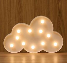 Wholesale E27 Led Lamp 1w - 2017 NEW ARRIVED Creative night light multi letter LED symbol lamp letter lamp cloud modeling lamp