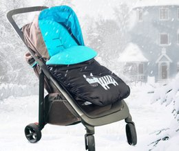 Wholesale Baby Strollers Winter - Wholesale- Green Slipper Baby Sleeping Bags Winter Envelope For Newborn Cotton Soft Cocoon Wrap Sleepsack Stroller Sleeping Bag Bed Blanket