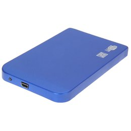 "Wholesale 2tb Usb Wholesale - Wholesale- USB 3.0 SATA 2.5"" HD HDD Hard Disk Drive Enclosure Speed Aluminium Alloy Case   Box 2.5 inch Support Hard Drive up to 2TB"