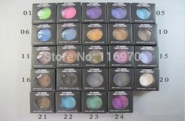 Argentina ¡Envío gratis! Venta caliente Nueva Sombra de ojos 24 colores diferentes de pigmento de sombra de ojos 1.5 g de color de mezcla Suministro