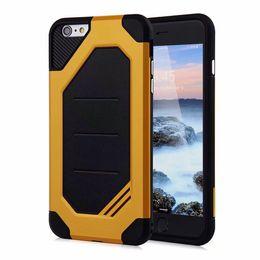 Wholesale Grand Bumpers - Anti-knock Bumper PC Case For Samsung S7 Edge J2 Grand Prime, Heavy Duty Defender Armor Mobile Phone Case For iPhone 6 Plus 6splus 7