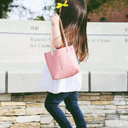 Wholesale Toddler Leather Bag - Ins pure handmade Fashion Bag Girls Leather Bags best Kids Handbags Childrens School Bags Toddler Handbags baby Hand Bag Weekend Bag A760