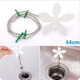Wholesale Kitchen Sink Drain Strainer - Bathroom Hair Sewer Filter Drain Outlet Kitchen Sink Filter Strainer Drain Cleaners Anti Clogging Floor Wig Removal Clog Tools