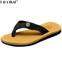 Wholesale Beckham Slippers - Wholesale- 2015 Beckham Hot Sale Men's Sandals Fashion Men Slippers Leisure Beach Flip Flops Casual Summer Shoes Size 40-44 XMH0007-0.5