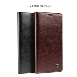 Wholesale Handmade Phone - Factory promotion L ! Case for Huawei Mate S Handmade Fashion 2P Wallet Phone Cover for Huawei mate S Ultra Thin Flip Genuine Leather Case