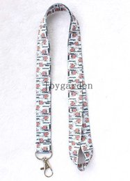Wholesale British Keychain - sell up to date British flag Lanyard Mobile Phone ID Card KeyChain Holder free shipping