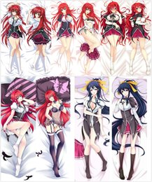 Wholesale Anime Cases - Wholesale- Pillow Case Japan Anime High School DxD Rias Gremory Hugging Body Pillow Cover case decorative pillowcases