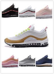 Wholesale High Sole Sneakers - Wholesale 2017 New Arrival Mens Fashion 97 Running Shoes With High Quality Cheap Air Sole Cushions Sports Sneaker Basketball Casual Shoes