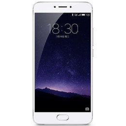Wholesale Cdma Android Phones Inch - Original Meizu MX6 Firmware Mobile Phone MTK Helio X20 Deca Core 3GB 4GB RAM 32GB ROM Android 6.0 5.5 inch 2.5D Glass 12MP mTouch Cell Phone