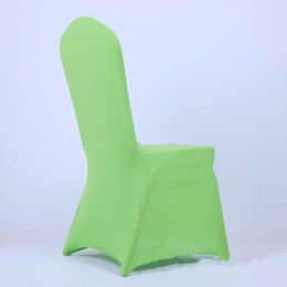 Wholesale Meeting Chairs - Thick flat spring seat cover Banquet meeting hotel Wedding Wedding Chairs Seat back cover