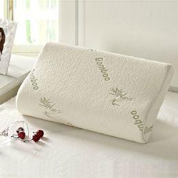 Wholesale cool beds - Wholesale- Hot Soft Pillow Travel Memory Foam Space Pillow Slow rebound Memory foam throw pillows neck cervical healthcare pillows