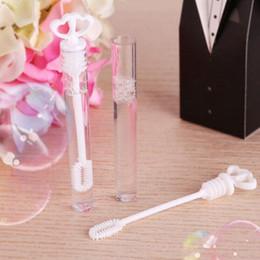 Любовь трубки онлайн-Пузыри Tube Double Love Heart Пластиковые Rod Empty Bubble мыло бутылки Забавный Главная Свадьба Рождество Декор 0 48tt F R