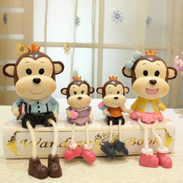 Wholesale Live Doll Silicone - Modern living room decoration Home Furnishing TV cabinet creative small ornaments suspending a large doll decoration gift