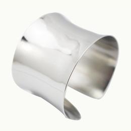 Pulseira para o braço on-line-2017 Novos acessórios de moda jóias punk abertura cuff bangle para as mulheres menina de prata Bangles Cuff Pulseiras pulseira braço superior