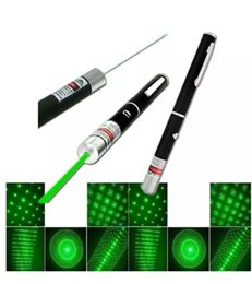 Wholesale Green Laser Star Cap Wholesale - 5in1 5 in 1 Star Cap Pattern 532nm 5mw Green Laser Pointer Pen with starring head laser kaleidoscope light DHL Fedex FREE SHIPPING
